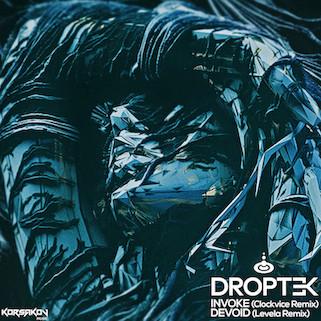 Droptek - Invoke (Clockvice Remix) / Droptek - Devoid (Levela Remix) - Korsakov Music / KRSKV022
