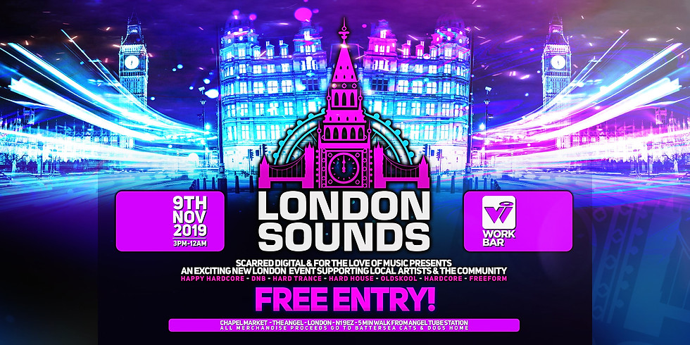 London Sounds - *Free* Launch kick off party!