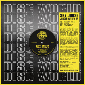 Sky Joose - Jungle Mayhem EP - Disc World / DISCWORLD003