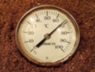 酵素風呂 温度