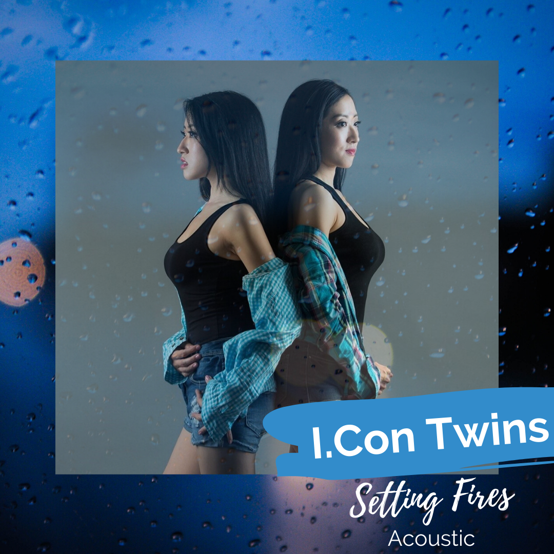 I.Con Twins Album Cover - Setting Fires