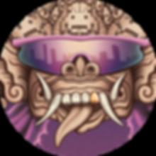 oli rogers, stegosaurus, art, illustration, illustrator, digital, surreal, magic, airbrush, psychedelic, alternative, retro, fantasy, spiritual, arcane, esoteric, alchemy, monsters, creatures, spooky, futurism, rock, karma, poster, band, flyer, gig, hindu