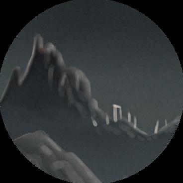 oli rogers, stegosaurus, art, illustration, illustrator, digital, surreal, magic, airbrush, psychedelic, alternative, retro, fantasy, spiritual, arcane, esoteric, alchemy, monsters, creatures, spooky, book, novel, covers, publishing, picture book