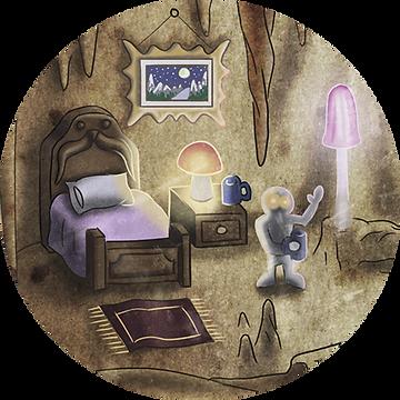 oli rogers, stegosaurus, art, illustration, illustrator, digital, surreal, magic, airbrush, psychedelic, alternative, retro, fantasy, monsters, creatures, spooky, book, novel, covers, publishing, picture book, children, children's, kids