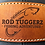 Thumbnail: Rodtuggerz Leather Logo Patch Hat - Charcoal / Black / Grey