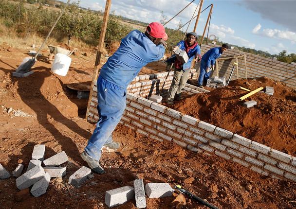 Foundation & Brick laying
