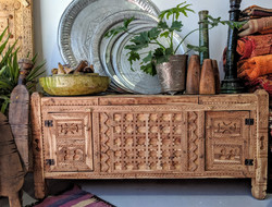 Hand-carved sideboard