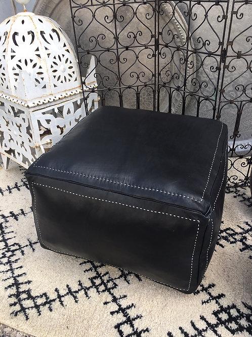 Ottoman Contemporary XLSquare Black