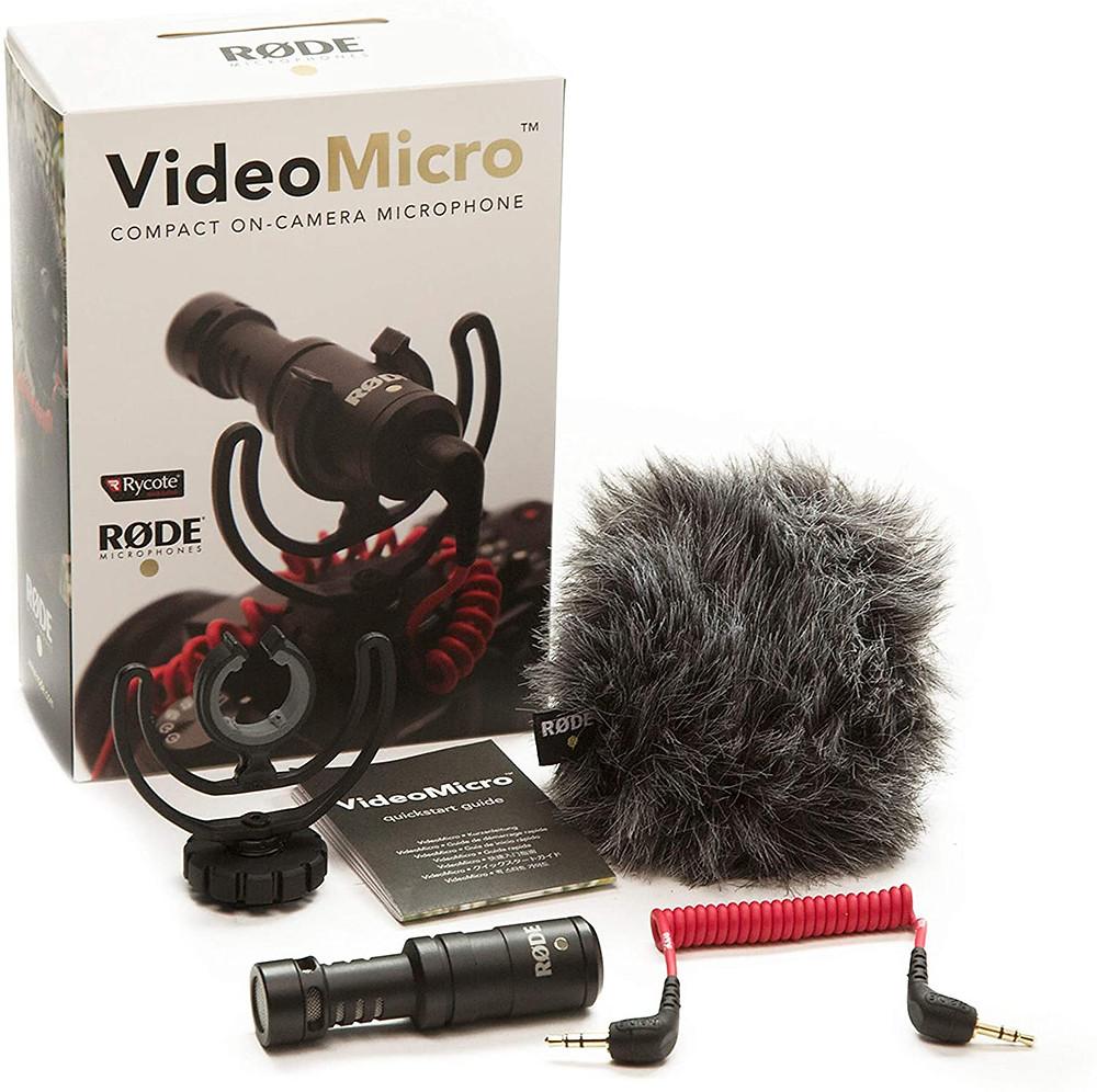 Rode Video Micro DaVinci Resolve