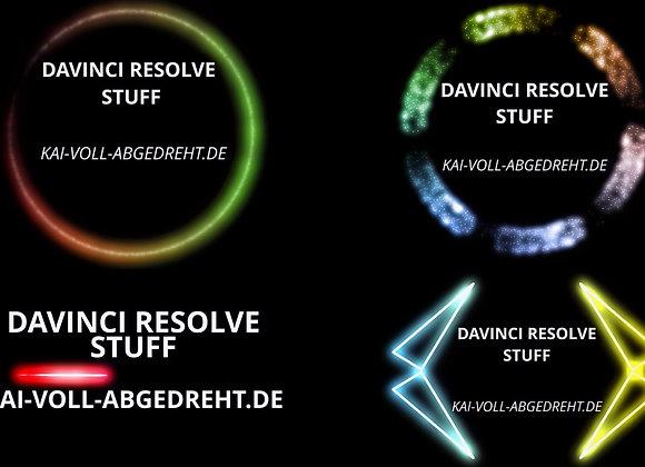 CREATIVE NEON TITLES - DAVINCI RESOLVE - KAI VOLL ABGEDREHT