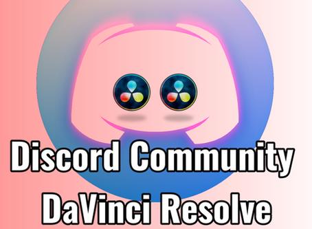 Einladung zum DaVinci Resolve Discordserver