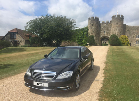 Chauffeur, Executive and Wedding Car Services to Amberley Castle