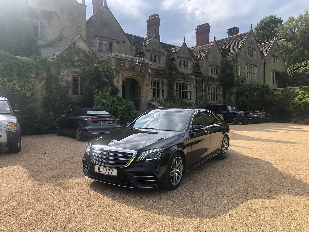 Chauffeur services to and from Gravetye Manor