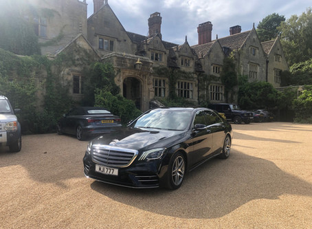 Chauffeur service to and from Gravetye Manor
