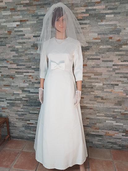 Robe de mariée taille 36/38 vintage année 60/70
