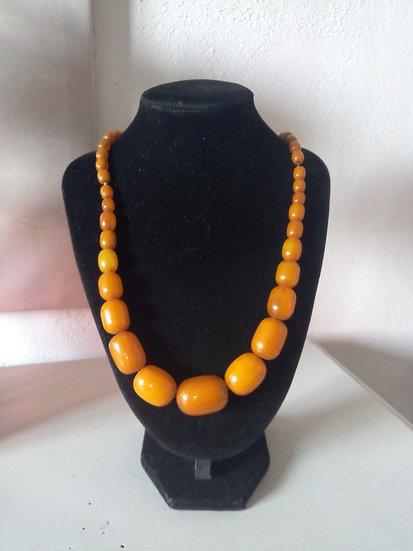 Collier vintage Perles