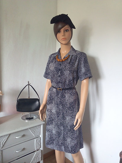 Robe vintage à poisTaille L