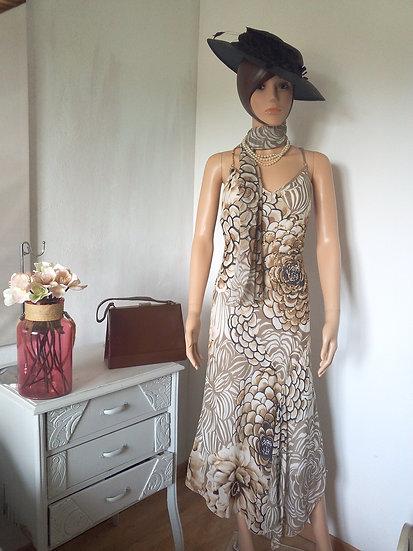 Robe FUEGO avec foulard Taille 44