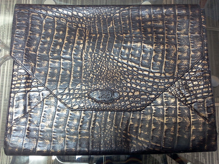 Pochette porte-document cuir LMB