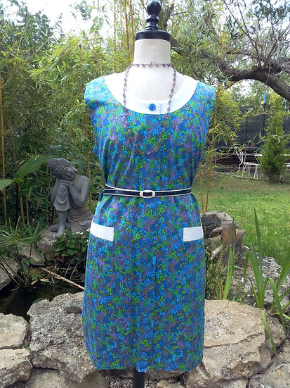 Robe tablier vintage