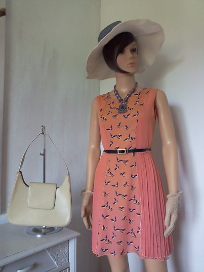 Robe corail taille S/M