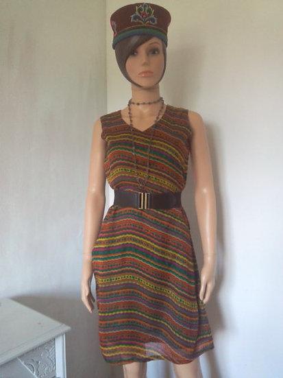 Tunique-robe style hippie Taille 38