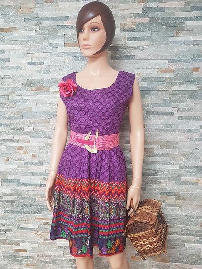 Robe motifs indiens taille L/XL