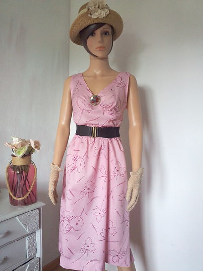 Robe couturière vintage Taille 42/44