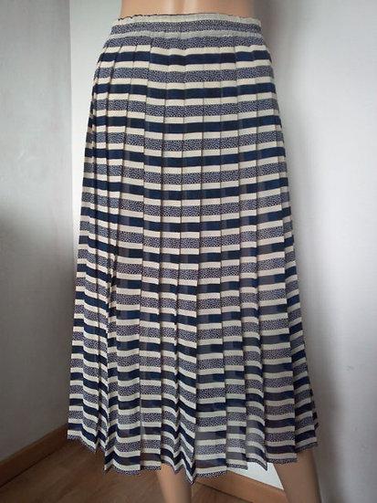 Jupe vintage plissé permanent Taille 3