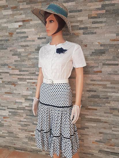 Jupe/Jupon provençal vintage Taille 42/44