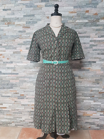 Robe vintage année 50/60 taille 44/46