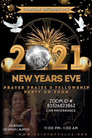 Copy of NEW YEARS 2020 2021 PARTY FLYER