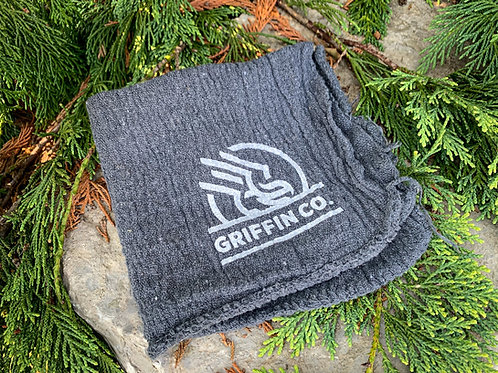 Griffin Co. branded vintage shop rag