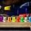 Thumbnail: Full size Concealed turbo glow bead in satin Ti/blackened Ti