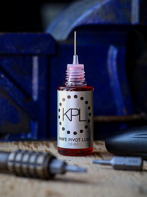 KPL (knife pivot lube)