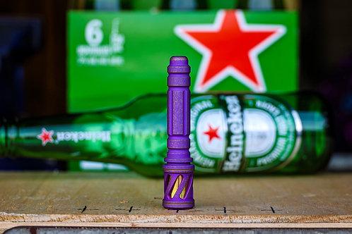 Vintage purple Ti Concealed pipe