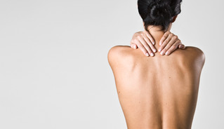 How do adjustments help with neck pain?