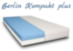 Berlin Matratze Kaltschaum Kompakt plus.