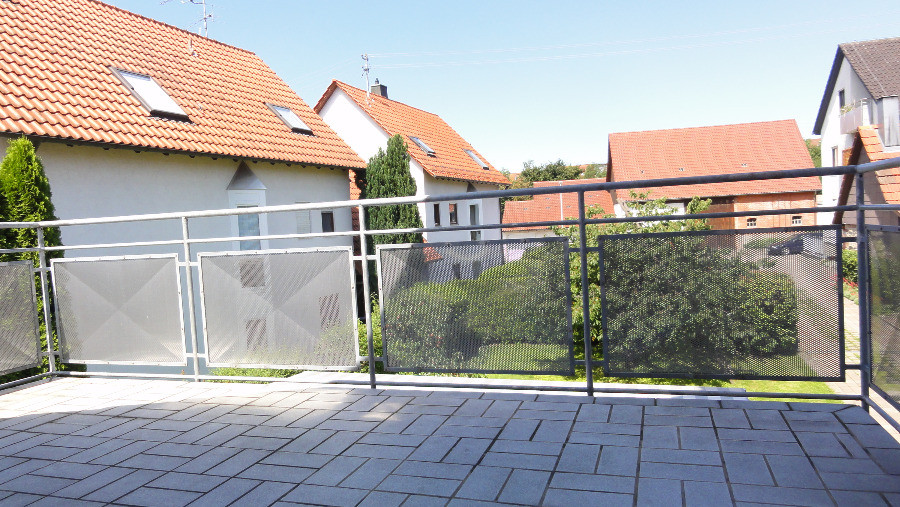 Balkon ohne Sichtschutz
