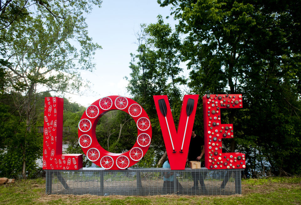 Lynchburg Love Sign