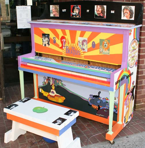 """Keys for the Hill City"" Piano"