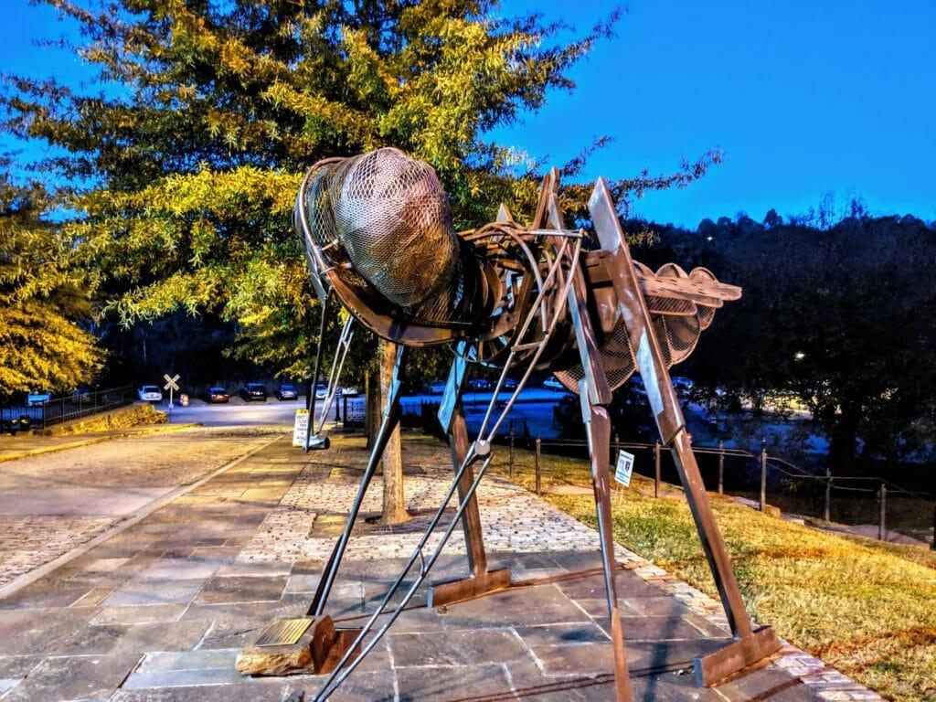 Amazement Square sculpture