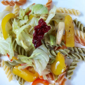 Mountain Cabbage Pasta