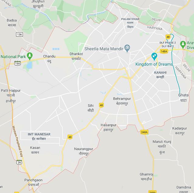 Gurgaon map.png