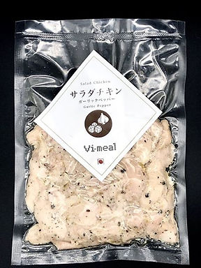 Vi-meal - Salad Chicken Garlic Pepper 200g
