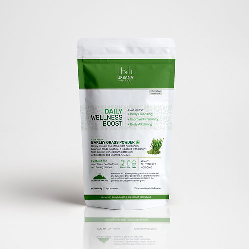 Barley Grass Powder 6 sachets