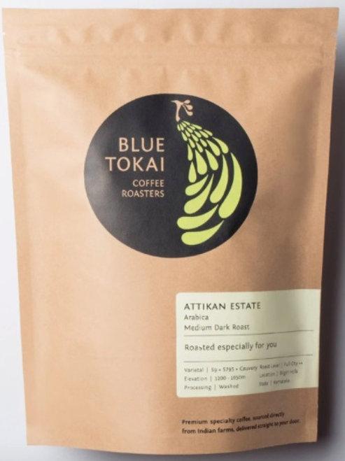 Blue Tokai Coffee - pour over Attikan 250g