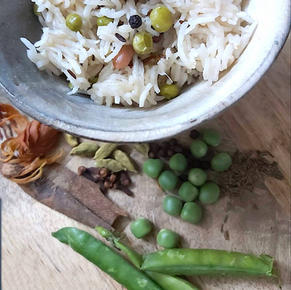 Colorful Beans Pulao