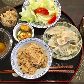Boiled Prawn Gyoza (Dumpling)