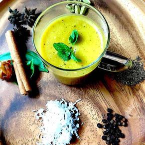 Aromatic pumpkin soup